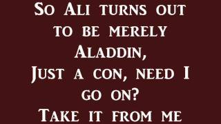 Prince Ali (Reprise)- Aladdin (lyrics)