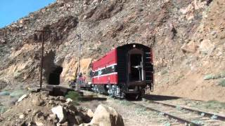 Westbound Cab Ride Through Carrizo Gorge HD
