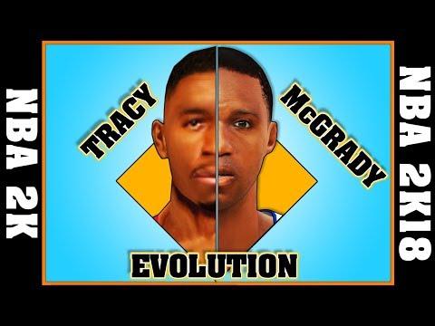 TRACY McGRADY evolution [NBA 2K - NBA 2K18]