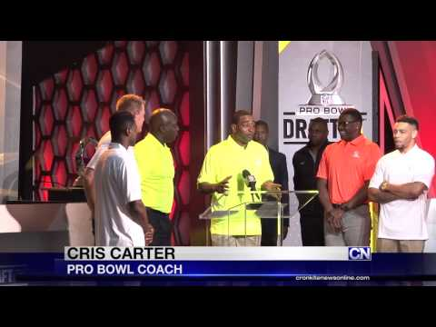 2015 Pro Bowl Week kicks off with game draft