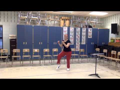 Locomotion Dance Routine
