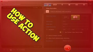 How to use action screen recorder (update)