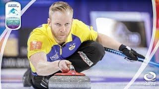 Sweden v Norway - Gold Medal (Men) - Le Gruyère AOP European Curling Championships 2016