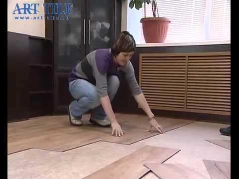 Как выбрать ПВХ плитку. Обзор ПВХ плитки Art Tile - коллекция Art .