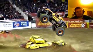 """Monster Jam Max-D Sidewalls"" Reaction!!"