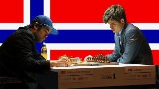 Hikaru Nakamura vs Magnus Carlsen - Norway Chess Super Tournament - 2013