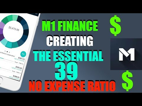 M1 Finance - Creating The Essential to Life 39 Stock Portfolio with 0% Expense Ratio and 2% Yield