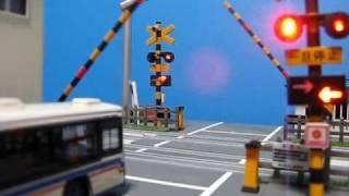 プラレール 踏切(自動)警報機・遮断機 予告編 thumbnail