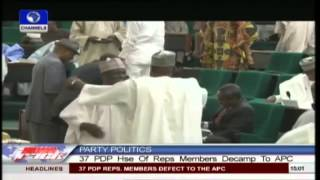 37 PDP Lawmakers Decamp To APC