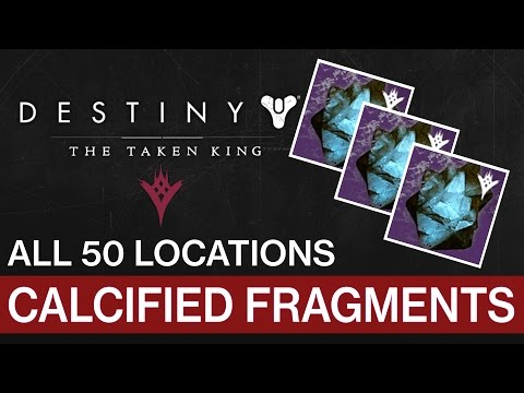 Destiny • All 50 Calcified Fragments Locations