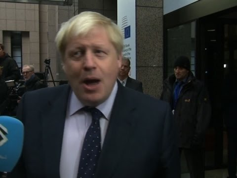 "UK's Johnson: Trump Is ""Moment of Opportunity"""