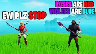 Ikonik Skin Tried Impressing His Crush With A Poem... (Fortnite)