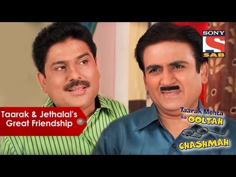 Thumbnail: Taarak Mehta And Jethalal's Great Friendship | Taarak Mehta Ka Oolta Chashmah