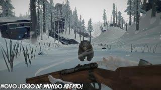 NOVO JOGO DE MUNDO ABERTO E SOBREVIVENCIA PERFEITO! - The Long Dark