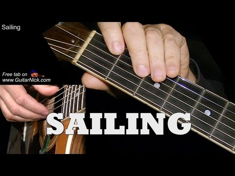 SAILING: Easy Guitar Lesson + TAB + CHORDS by GuitarNick