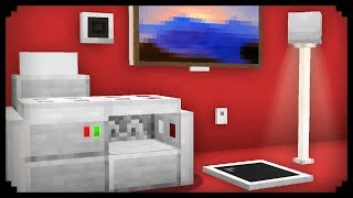 ✔ Minecraft: 10 Easy Electronic House Furniture Ideas