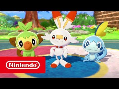 Pokémon Sword And Pokémon Shield - Welcome To The Galar Region! (Nintendo Switch)