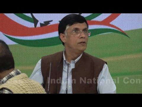 AICC Press Briefing By Pawan Khera at Congress HQ on Nirav Modi-Modi Govt-Panama Papers nexus