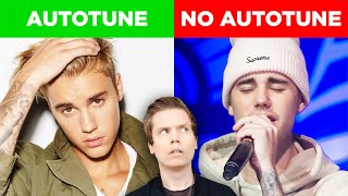 Comparing Singers With & Without Autotune (Justin Bieber, Demi Lovato & MORE)