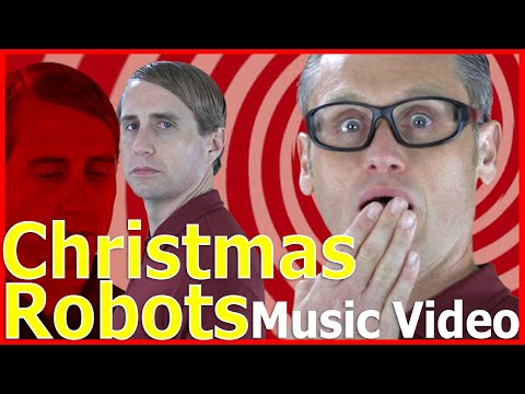 Christmas Robots MUSIC VIDEO! - Day 8 - 12 Days of Christmas - kerBLINK