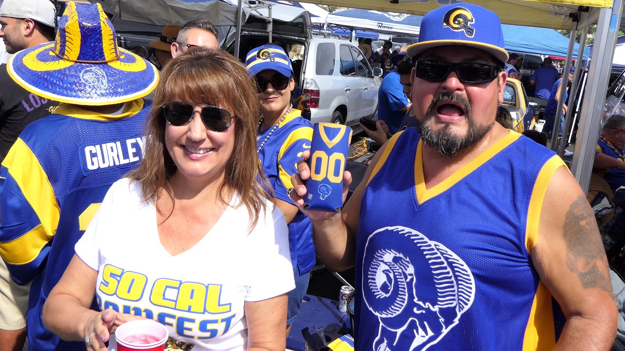 Tailgating, face-painted fans back in force at NFL stadiums