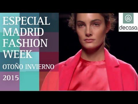 Especial Madrid Fashion Week Otoño Invierno 2015   Noticias Moda