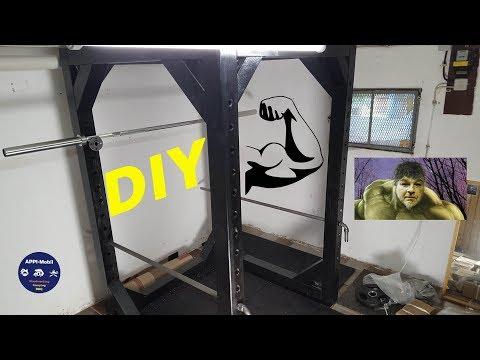 ❗ POWER RACK aus Holz selber bauen I How To I  DIY  APPI-Mobil ❗
