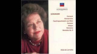 Schumann - Novelette No.8 - de Larrocha