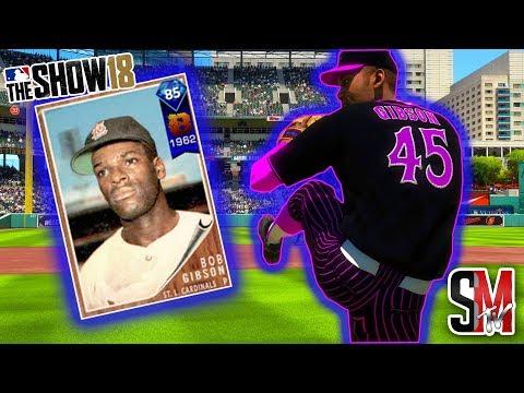 Unbelievable Ending! Diamond Bob Gibson Debut - MLB The Show 18 Gameplay