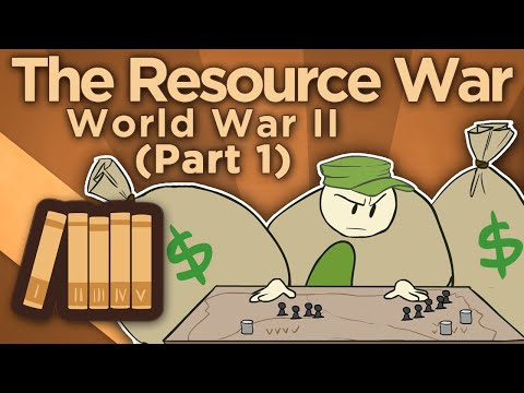 WW2: The Resource War - Arsenal of Democracy - Extra History