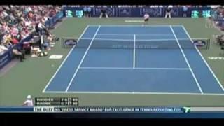 Andy Roddick Amazing Diving Shot