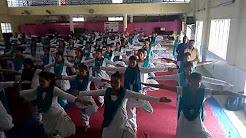 International Yoga Day@ Women's College Tinsukia