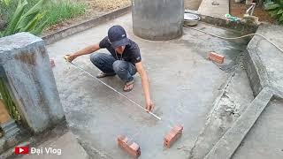 Cách lấy góc vuông trong xây dựng  hằng ngày. How to get right angles in daily construction
