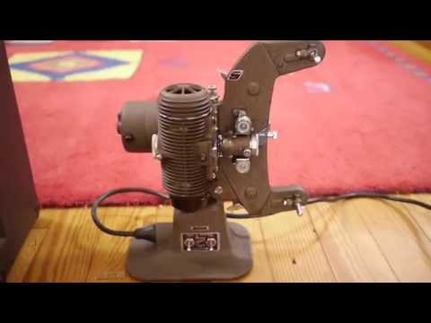 Bell & Howell 8mm Master 400 Filmo Home Movie Film Projector
