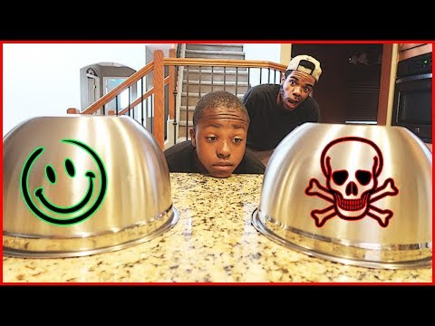 The RIGGED Pick Your Poison Challenge!   #Mav3riqFam