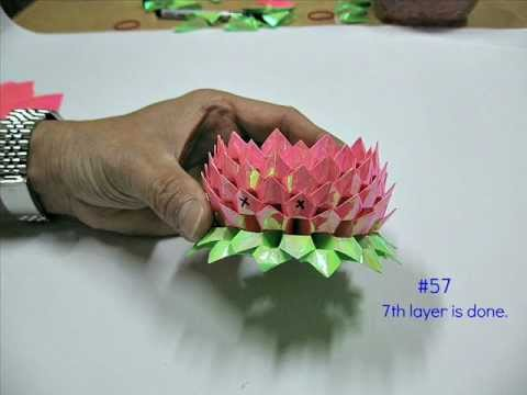 How To Make An Origami Lotus 2nd Version