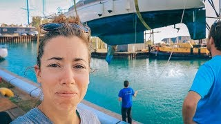 How to Run Aground in 8' of Water When You Only Draw 4' | Sailing Soulianis - Ep. 24