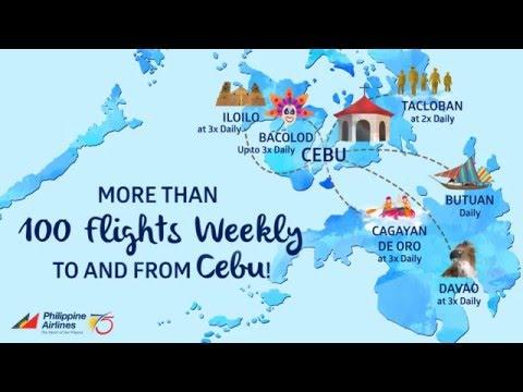 Enjoy more flights daily from the heart of Cebu!