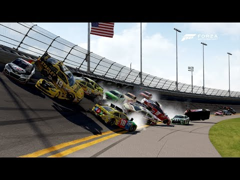Make Huge Crash! | Forza Motorsport 6 | NASCAR Expansion Snapshots