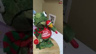 Iguana wish you a merry Christmas