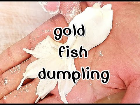 Chinese Dumplings Recipe Tasty/goldfish Dumpling/金鱼饺子/好看又好吃