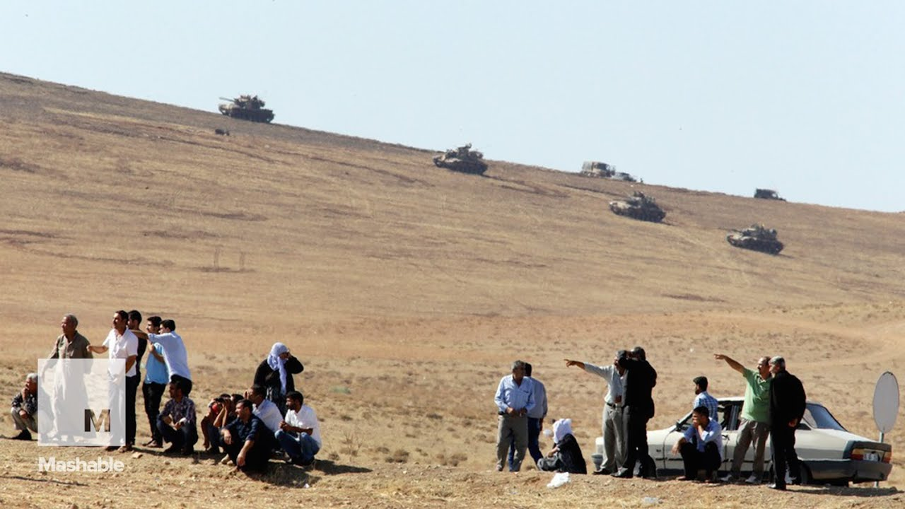 U S  Airdrops Arms and Ammo for Forces Fighting in Kobani