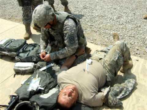 combat medic real 68w training