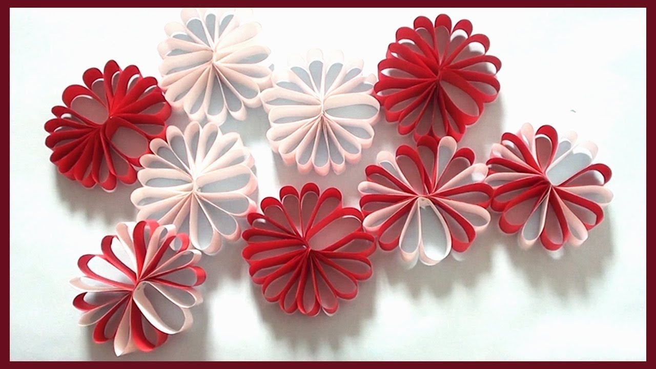 Diy Wall Decor Christmas Room Decoration Simple Paper