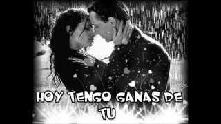 """""""HOY TENGO GANAS DE TI"""" con letra ALEJANDRO FERNANDEZ Y CRISTINA AGUILERA"""