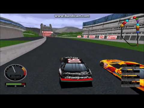 NASCAR Road Racing (PC) Gameplay (Dick Trickle) (Bridgeport Speedway) (5 Laps]