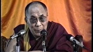 H H the Dalai Lama Addresses CTA Staff at Kashag Hall, 1993.