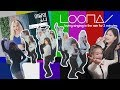 LOONA loving singing in the rain for 3 minutes