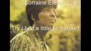 Lorraine Ellison - Try (Just A Little Bit Harder)
