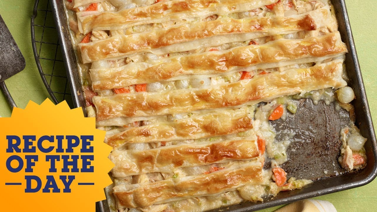 Recipe of the day all crust sheet pan chicken pot pie food recipe of the day all crust sheet pan chicken pot pie food network forumfinder Gallery